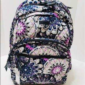 Vera Bradley large essential backpack medallion